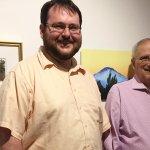 David Kirley, aeqai webmaster, and Daniel Brown, editor