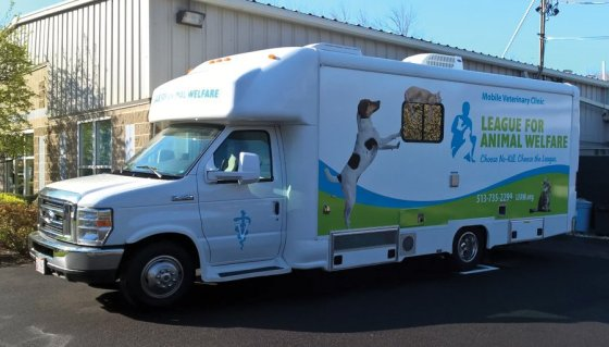 The mobile veterinary clinic