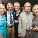 Ann and Harry Santen with Susan Tew, Jim Fitzgerald and Vicky Motch