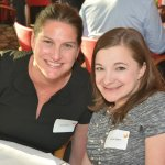 2015 Cincinnati ReelAbilities Film Festival co-chairs Sara Bitter and Dr. Kara Ayers