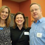 ProKids staff attorney Laurie Hoppenjans, with volunteer Debbie Jacobs and her husband, Keith