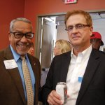 CASA volunteer Donald Swain and ProKids attorney Paul Hunt