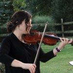Violinist Sarah Blumberg