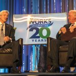 Jamie Dimon and John Barrett