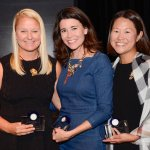 Co-chair and honoree Chrissie Blatt with honorees Brooke Guigui and Sherri Symson