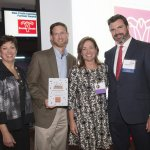 Dov Rosenberg and Pam Green of Easter Seals Tri State, with ReSource executive director Christie Brown and Phil Castellini