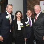 Doug Bolton; Julie and Steve Shifman, Centennial Society chairs; John Barrett, past campaign chair