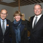 John Pepper, past United Way campaign chair; Peggy and Ted Torbeck, 2016 campaign chair