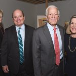 Karen and Chris Bowman, Trey and Chris Heekin, past board chair