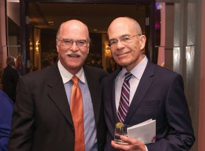 Dr. Andrew Robbins, a volunteer physician at The CEI Foundation vision clinics, and Dr. John Cohen, a CEI founding doctor