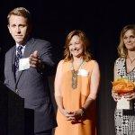 Thomas Johnson, honorary co-chair; Pam Green, president and CEO; and Beth Johnson, honorary co-chair