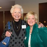 Susan Peter with Suzanne Rohlfs of the Greater Cincinnati Foundation