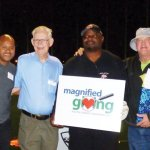 Greg Anderson, Eliot Sloan, Roger Grein, Ickey Woods, Tom Browning and Steve Caminiti