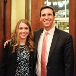 Sarah Sittenfeld and P.G. Sittenfeld, Cincinnati City Council member and event emcee