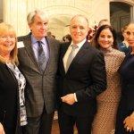 Candy Stemple, ProKids CASA manager; Tom Cuni, ProKids board president; José Nine; Josefina Nine; and Gabriela Nine