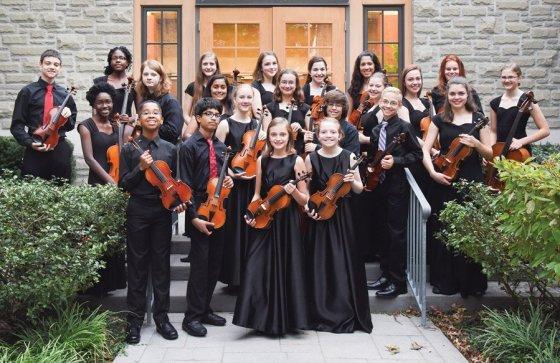 Members of the Peraza Music Workshop Ensemble