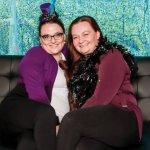 Becky Pegoli and Frankie Robinson, domestic violence survivor
