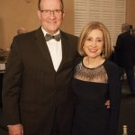 Event host Paula Toti with Timothy Smith