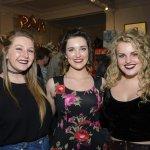 Kara Crowe, Emily Westerbok and Kelsie Jones