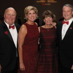 Heart Ball co-chairs Alvin and Joan Roehr with honorees Peggy and Ted Torbeck
