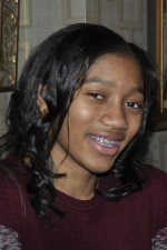 Aleia, a student at Corryville Catholic