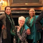 Women of Distinction: Kathy McMullen, Shakila T. Ahmad, Victoria Morgan, Linda Clement Holmes and Cheryl Rose