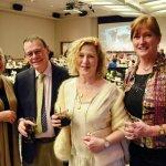 Judy Clabes, Bob Burnham, Rose Burnham and Sharon Guenthner