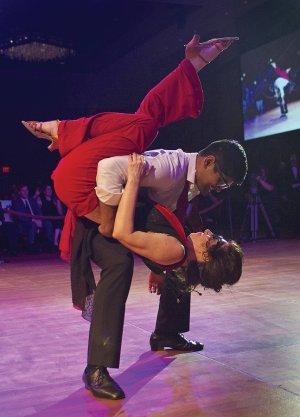Dance champion Rohan Hemani and Doreen Beatrice