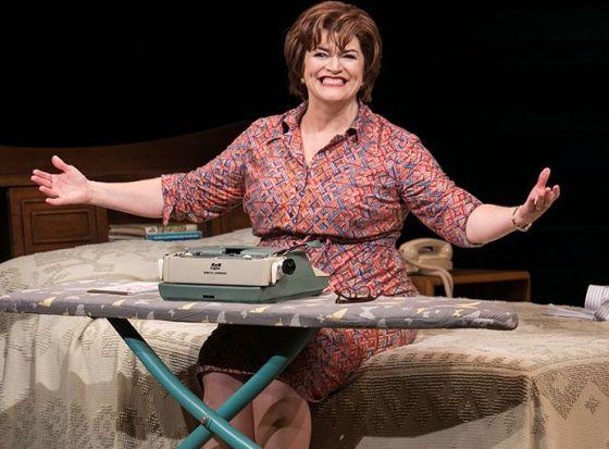 Barbara Chisholm as Erma Bombeck