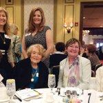 (Seated) Mary Jo Barnett, Margie Leis, Karen Sellers and Ann Majoewsky; (standing) Tracie Bowling and Tera Dipuccio