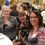 Rosalee Campbell, Lynda Mack and Dena Duffy