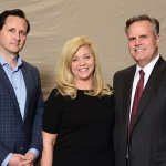 Dr. Hugh Herr with Nancy Mitchell and Bethesda Foundation board member Bob Mitchell, chief marketing officer at Cintas