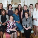 Gala Planning Committee (back): Cathy Cooke, Natasha Busam, Brittany Kilgour, Sara Breiel, Rachel Lyon and Annie Bennett; (front): Verna Tuttle, co-chair Mary Schwaderer, Margo Spence and co-chair Maureen Heekin