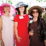 Valerie Newell, Mindy McLaughlin and Peg Wyant