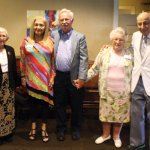 Members of the Coppel Speakers' Bureau: Renate Neeman, Zahava Rendler, Henry Fenichel, Stephanie Marks and Al Miller