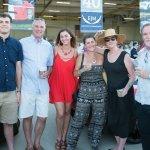Thomas Gear, Andy Gear, Francesca Gear, Jessica Gear, Amy Heekin and Gary Gleason