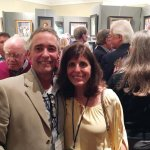 David Mueller and Marybeth Karaus, artists exhibiting in the Oil Painters of America show