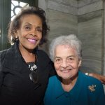 Honorees Miriam West and Marian Spencer