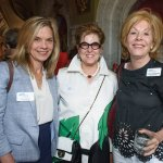 GCF president/CEO Ellen M. Katz, with honorees April Davidow and Dianne Rosenberg