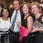 Yvonne Washington, Dr. David Barron, Andrea Hamilton and Rebecca Barron