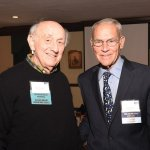 Dick Rosenthal with John Pepper, retired CEO of Procter & Gamble
