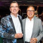 Dan Brown and Mark Haggar
