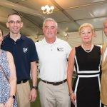 Kelli Fitzgerald, Eric Fitzgerald, U.S. Rep. Brad Wenstrup, Kay Geiger and Jack Geiger