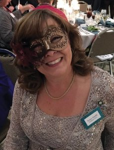 Kindervelt citywide president Tracy Smith at last year's gala