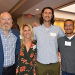 Representing sponsor Rhinegeist: Dennis Kramer-White, Katie Hoffman, Bryant Goulding and Bob Bonder