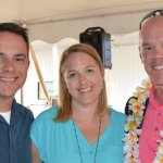 Horan guests Rick and Nicole Gambaccini and Greg Hoernschemeyer