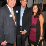 Mike Stautberg, president of Atrium Medical Center Foundation; Liberty Township trustee Tom Farrell; and Jillian Kelley, marketing and sales