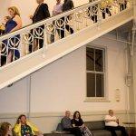 Gallery staircase, Cincinnati Music Hall