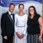 Gordon Havens, artistic director; Madelyn Torrans, dancer; and Jennifer Becker, site leader