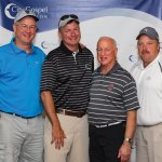 Second-place team: Darrel Geis, Pat Latham, Jay Kittenbrink and Todd Shaffer